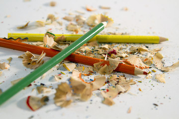 Shavings and Pencils
