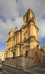 Our Lady of the Sacred Heart Parish Church in Sliema