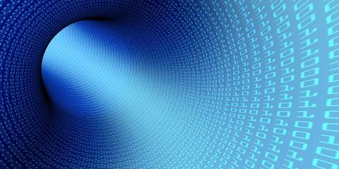 Tunnel binary code