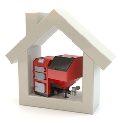 House and heating system