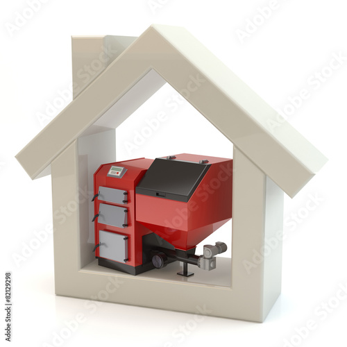 House and heating system - 82129298