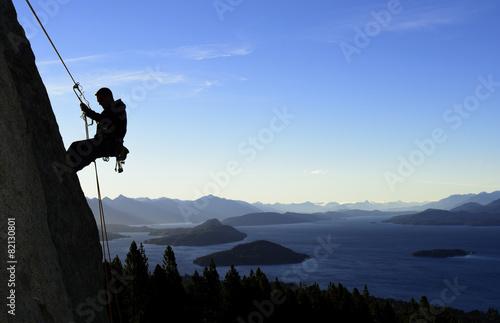 Rock Climbing in Patagonia - 82130801