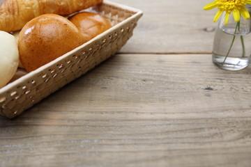 バスケットに入ったパン