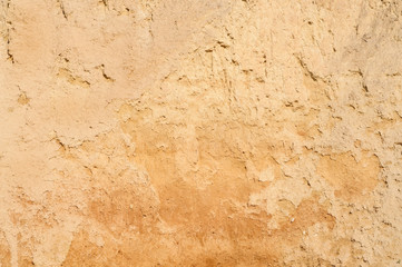 The texture of clay