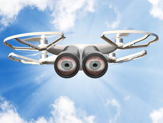 Eyes on the sky. Drone is new tool for aerial photo and video.