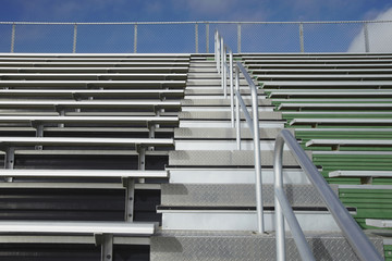 Bleachers at a Sports Field
