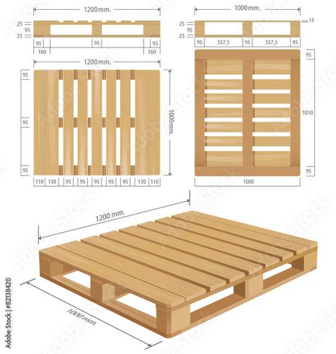 American standard pallet views - 82138420