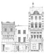 Bond street houses, London. Sketch collection - 82139239