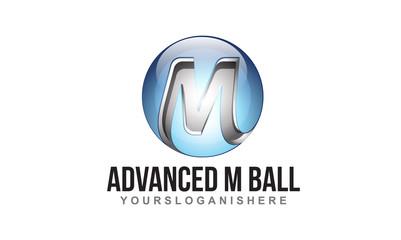 3D M Ball - Logo