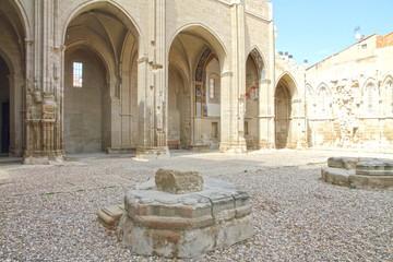 San Pedro church, Viana, Navarre, Spain