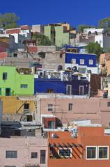Colorful Hillside Homes