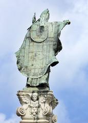 Le spalle di Sant'Oronzo - Lecce