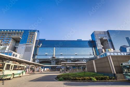 Aluminium Treinstation 京都駅