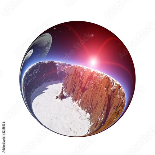 Fantastic colorful ball - 82158436