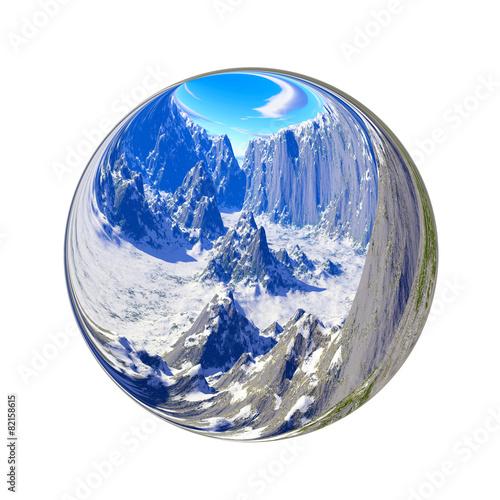 Fantastic colorful ball - 82158615