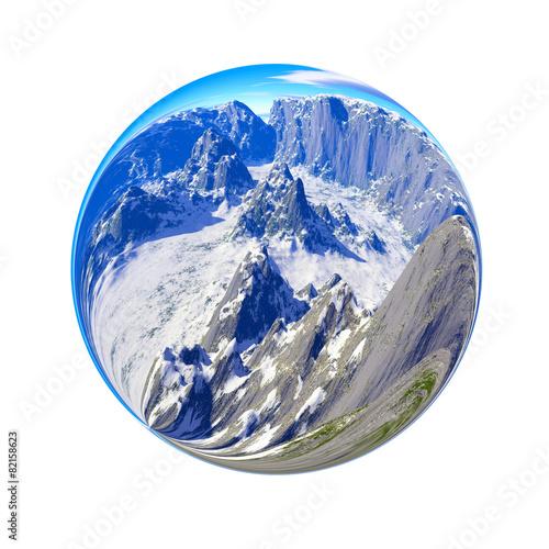 Fantastic colorful ball - 82158623
