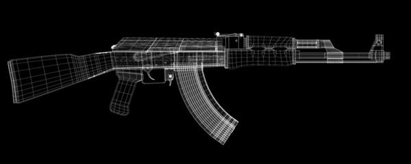 Automatic gun