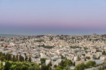 Cityscape Of Nazareth