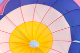 Parachute bottom view poster