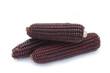 pannocchie di granoturco viola_ sfondo bianco - 82162823