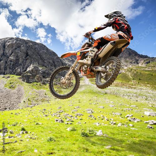 Poster Motorsport motocross outdoor