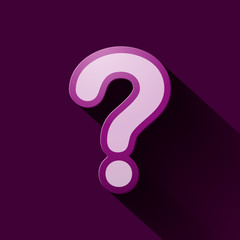 Volume icons symbol: Question mark