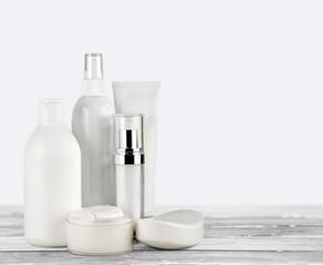Cosmetics. Cosmetics arrangement