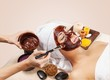 Waxing. Chocolate Luxury Spa. Facial Mask