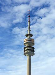 The Olympic Tower (Olympiaturm), Munich, Germany