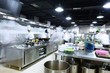 modern kitchen and busy chefs - 82169239