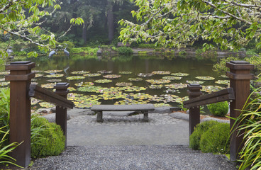 Shore Acres State Park botanical gardens, an Oregon State Park