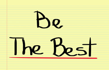 Be The Best Concept