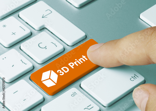 Leinwanddruck Bild 3D print