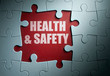 canvas print picture - Health and safety