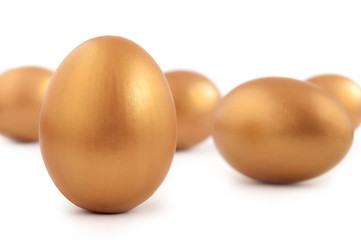Gold nest eggs