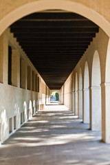 Length of a Colonnade