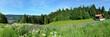 Panoramafoto Thüringer Wald
