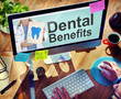 Dental Plan Benefits Dentist Medical Healthcare Hygiene Concept - 82174066