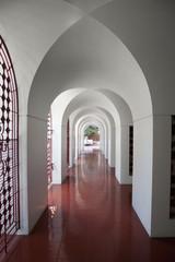 Buddhist Temple Corridor