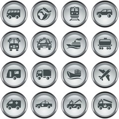 Transportation button set