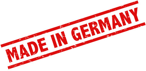 Made in Germany Stempel rot