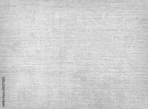 Leinwandbild Motiv Raw grey linen canvas texture