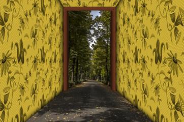 Corridoio verso la natura