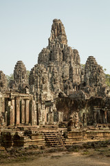Bayon central towers