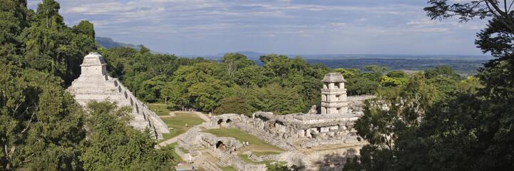 Mayan ruins, Palenque, Chiapas, Mexico