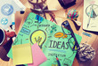 Ideas Innovation Creativity Knowledge Inspiration Vision Concept - 82179861
