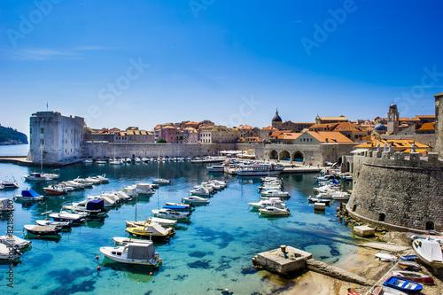 Plexiglas Stad aan het water Dubrovnik