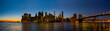 New York Skyline at Sunset - 82181422