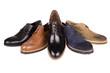Leinwanddruck Bild - men's shoes