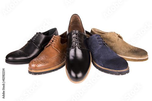 Leinwanddruck Bild men's shoes